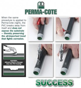 Not all manufacturers have achieved a consistent level of reliable bonding. Perma-Cote has. Need proof? Seeing is believing.