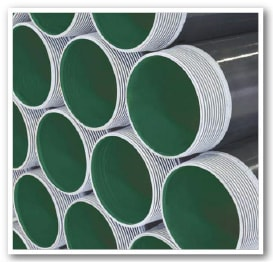 Threads are hot-galvanized using specially designed equipment, including 3-axis robotic arms.